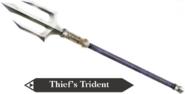 Hyrule Warriors Legends Trident Thief's Trident (Render)