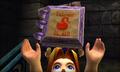 Link actualizando el Cuaderno de los Bomber en MM 3D