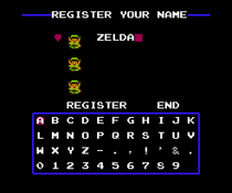 The Legend of Zelda - Zelda (partida)