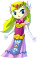 The Wind Waker HD Artwork Princess Zelda (Official Artwork)