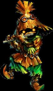Horror Kid Artwork (Ocarina of Time)