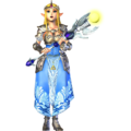 Hyrule Warriors Princess Zelda Standard Outfit (A Link to the Past Zelda Recolor - Twilight Princess DLC)