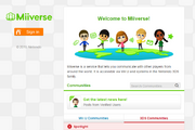 Page d'Accueil Miiverse