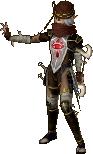 Sheik costume cocolint HWL