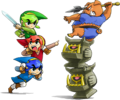 Tri Force Heroes artwork 6