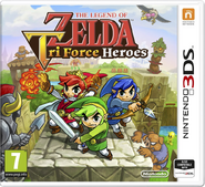 Carátula Portada Tri Force Heroes