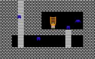Link consigue la escalera