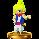 Tetra Trophée Super Smash Bros. Wii U