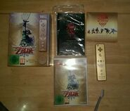 Contenido de la edición 25 aniversario The Legend of Zelda Skyward Sword