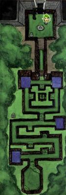 Mapa Pradera Sagrada del Bosque
