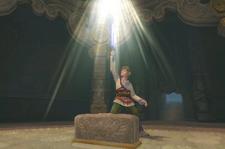 Link obteniendo Espada Divina SSpng