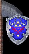 Bug-Catching Net and Hylian Shield (Soul Calibur II)