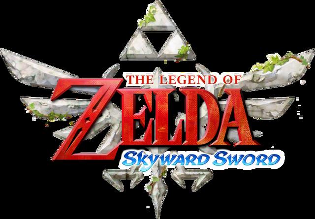 image - the legend of zelda - skyward sword (logo)