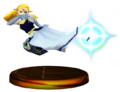 Zelda Trofeo SSBM 3