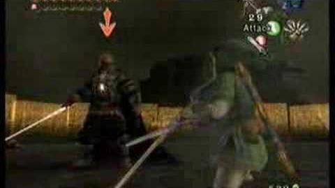 Batalla contra Ganondorf TP