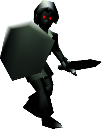 Dark Link (Ocarina of Time) | Zeldapedia | FANDOM powered ...