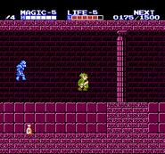 Link en el Palacio Oculto TAoL