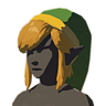 Breath of the Wild amiibo Rune Items (Classic Hero's Clothes Armor Set) Cap of the Hero (Icon)