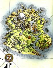 Ilustración Isla Koholint