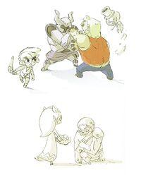 Concepto Zelda Espectro