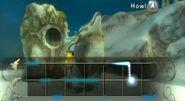 Link Lobo aullando la Melodía del Tornado TP