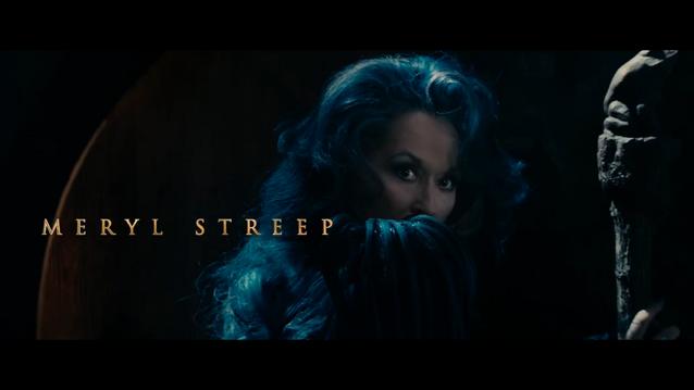 La Bruja Into the woods Meryl Streep