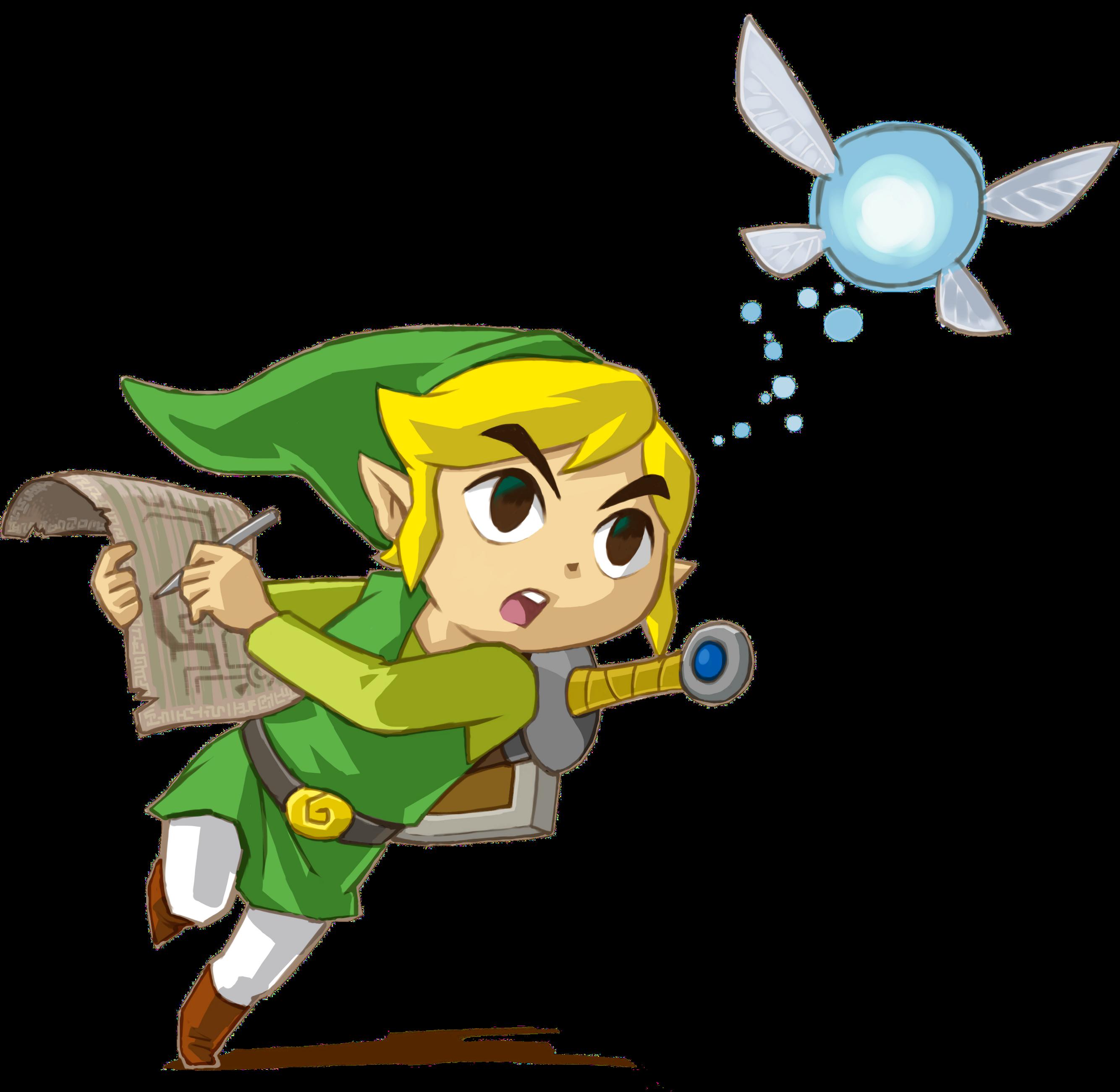 cest le mme link que dans the wind waker aprs son dpart avec les pirates aprs que tetra se soit engouffre sur le navire fantme elle disparat et - Link Et Zelda