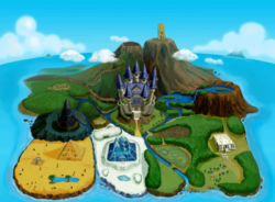 Mapa de Hyrule (Four Swords Adventures)