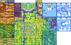 Mapa de Hyrule (The Minish Cap)