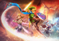 Hyrule Warriors arte oficial