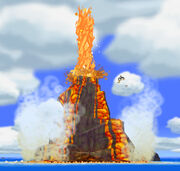 Isla del Volcán TWW