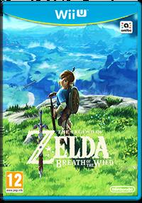 Jaquette Européenne Wii U BOTW