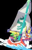 Link y el Mascarón Rojo TWW