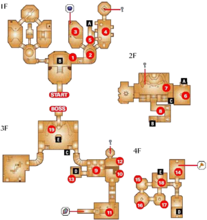 Spirit Temple Map