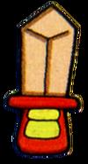 Espada de madera artwork 2 TLoZ