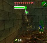 Link et Squelette Puits