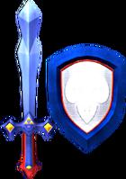 Magical Sword and Magical Shield (Soul Calibur II)