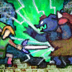 Il Link di <i>A Link to the Past</i> sconfigge Ganon