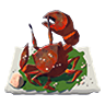 Breath of the Wild Food Dish (Crab) Salt-Grilled Crab (Icon)
