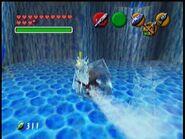 Freezard atacando a Link