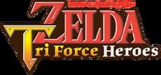 The Legend of Zelda - Tri Force Heroes Logo