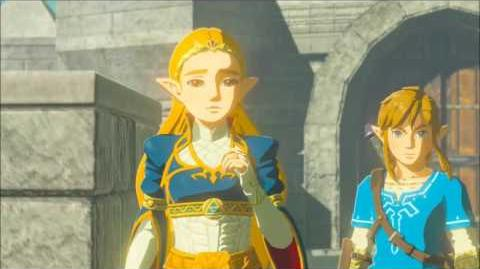 The Legend of Zelda Breath of the Wild - Vater und Tochter Erinnerung Cutscene (Nr