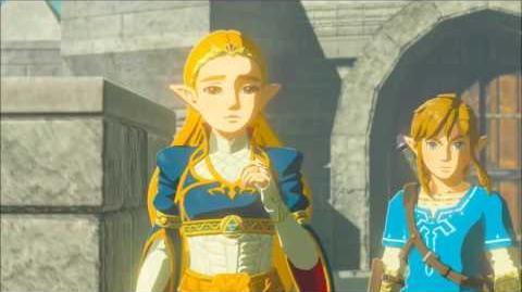 The Legend of Zelda Breath of the Wild - Vater und Tochter Erinnerung Cutscene (Nr.12)