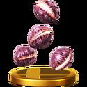 Trofeo Nueces Deku SSBWiiU