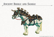 Ancient Bridle and Saddle set (Breath of the Wild)