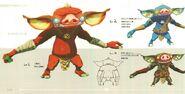 Bokoblin Concept Art BOTW