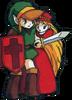 Link et Zelda LoZ