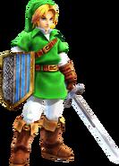 Link ropas OoT en HW