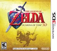 The Legend of Zelda - Ocarina of Time 3D (North America)