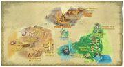 Mapa de las Tierras Inferiores SS
